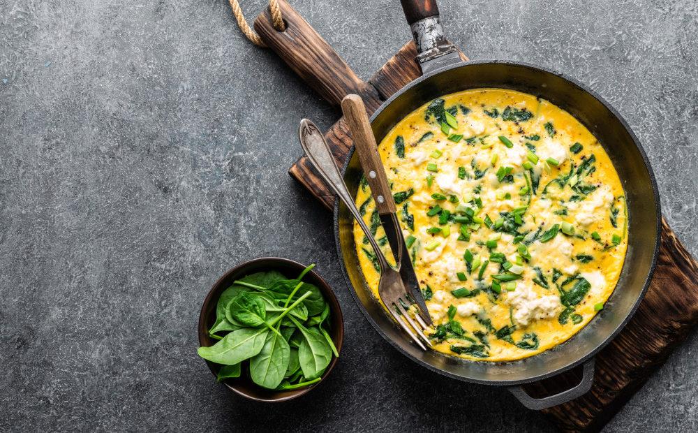 omelet-in-pan